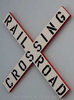 Train bedroom railroad crossing
