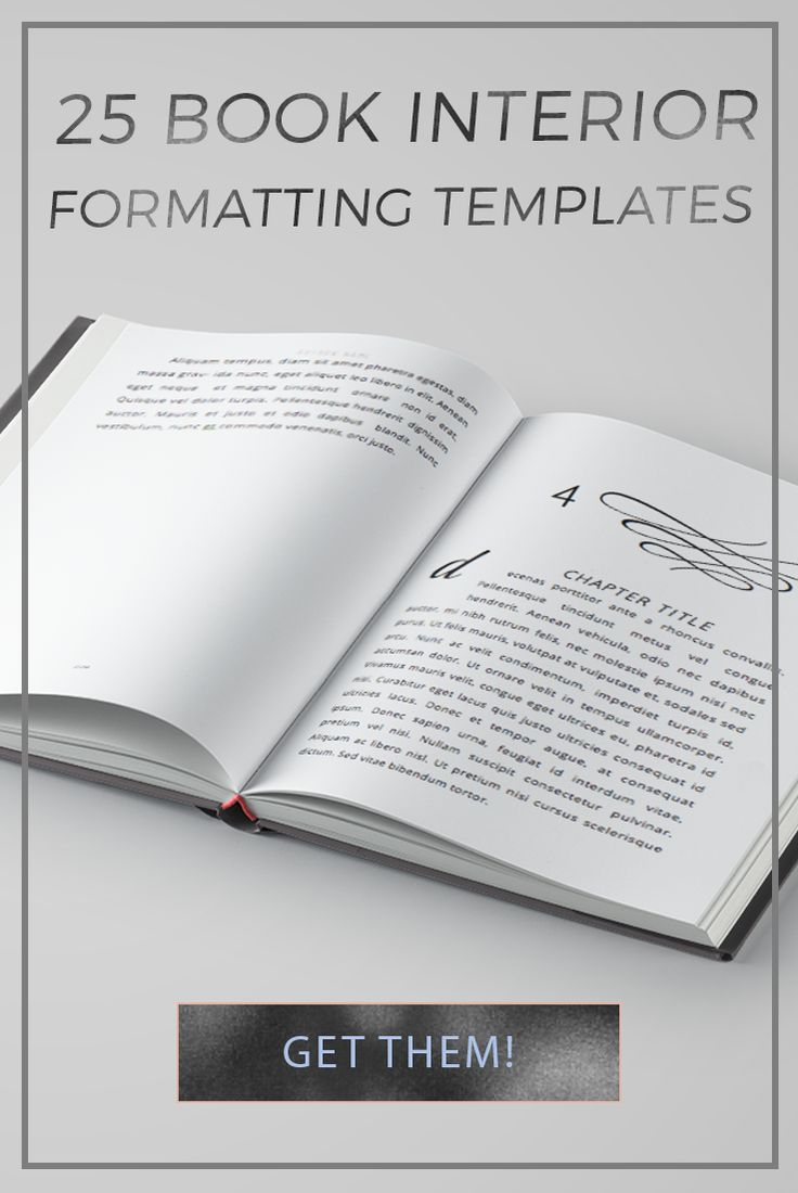25 book interior formatting templates fonts media marketing and 25 book interior formatting templates pronofoot35fo Gallery