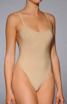 3cc03a2079 Only Hearts Second Skin Thong Bodysuit 8288