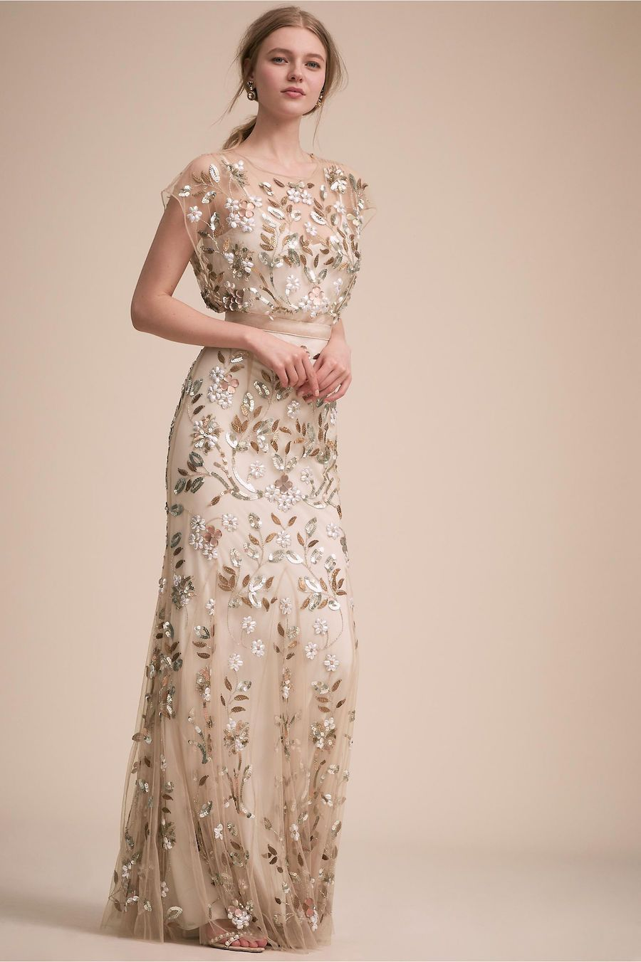 modern bohemian chic bhldn wedding dresses the label