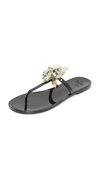 f596816ad4b9 TORY BURCH Blossom Jelly Thong Sandals.  toryburch  shoes  sandals ...