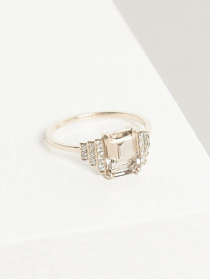 Solitaire engagement ring settings only princess cut engagement