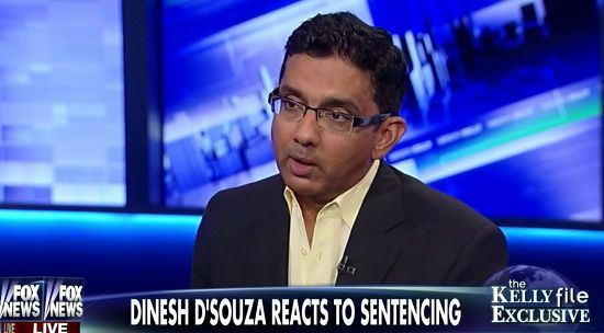 Convicted Felon D'Souza Runs To Megyn Kelly For Comfort