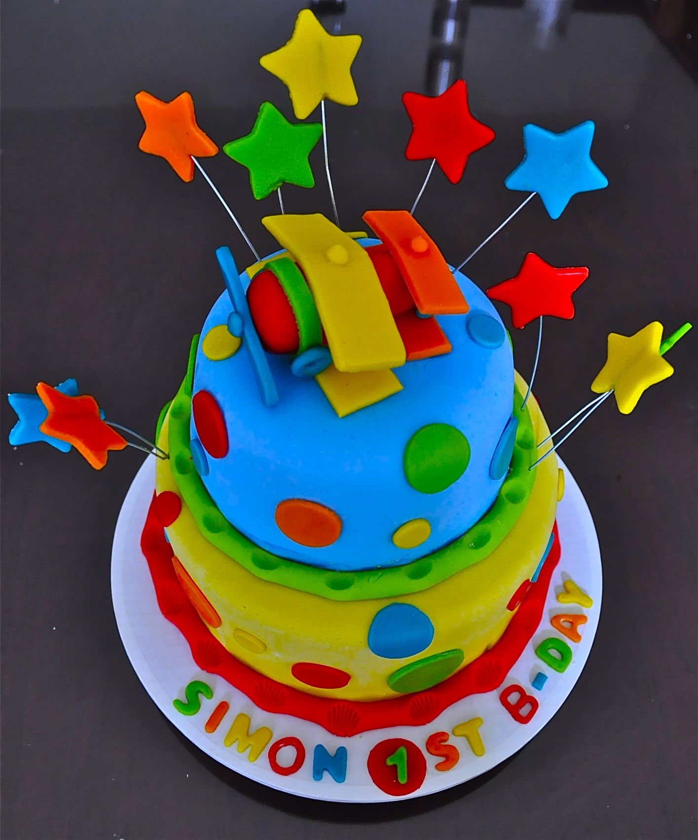 Airplane rst birthday cake recipes to cook pinterest