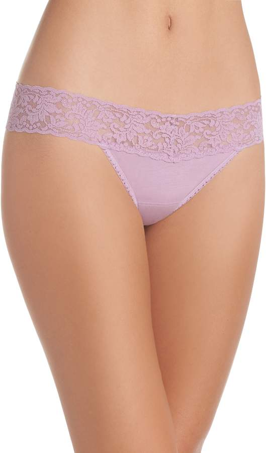 15892d184bc7 Women's Hanky Panky Low Rise Thong, Size One Size - in 2019 ...