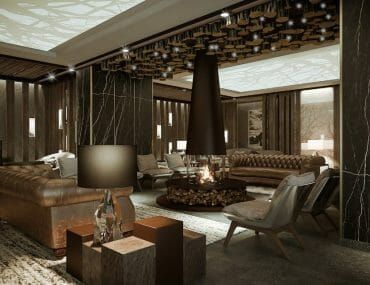Five Star Hotel, Le Massif, Restaurant and Club, La Loge ...