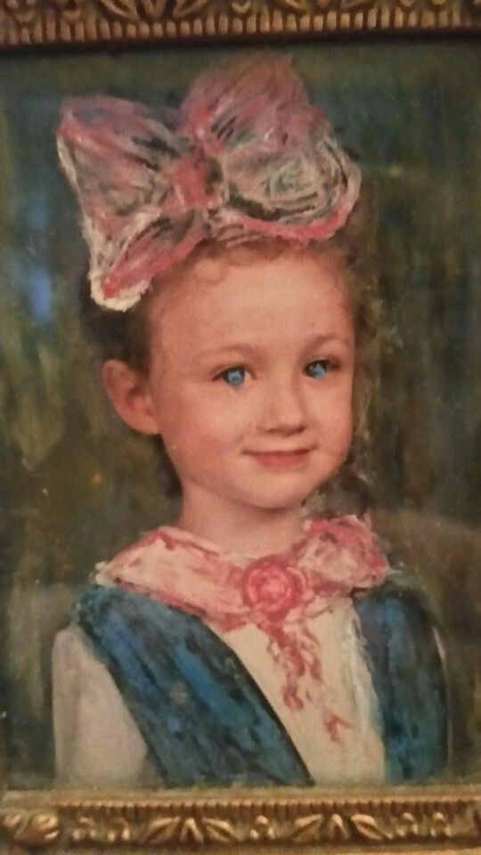My daughter --at age 5