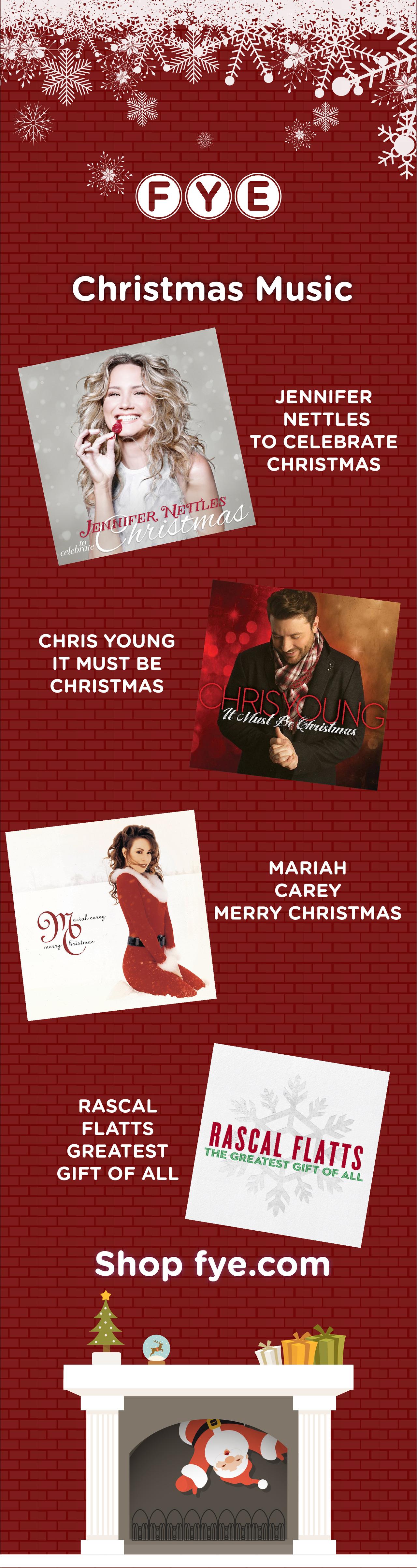 Shop holiday music favorites at FYE! Mariah carey merry