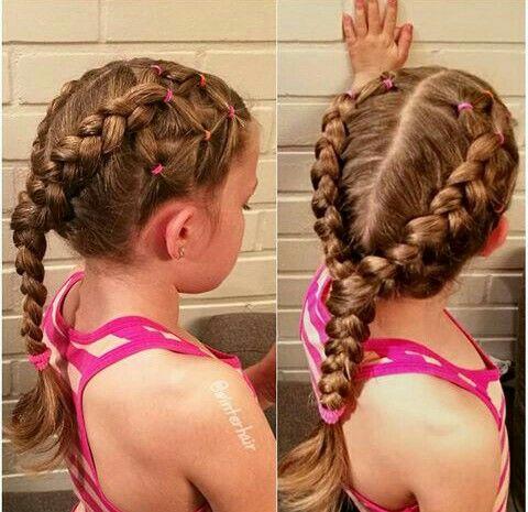 Pin By Belen Cruz On Hairstyles Hair Styles Girl Hairstyles Hair