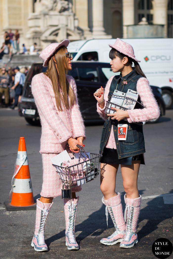 Live the shoes and bag | Olivia palermo fashion week