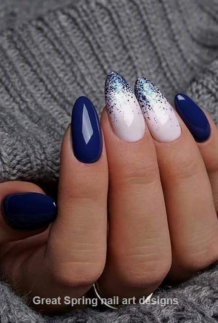 20 Great Spring Nail Designs 2019 #designs #spring #nail design