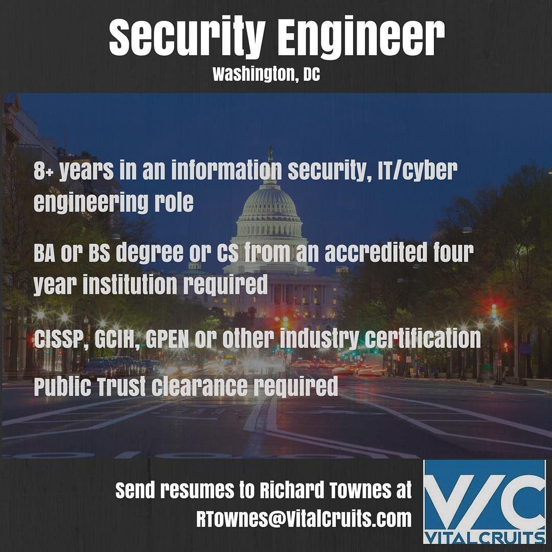 Jobs in washington dc security engineer rtownesvitalcruits jobs in washington dc security engineer rtownesvitalcruits vitalcruits 1betcityfo Images