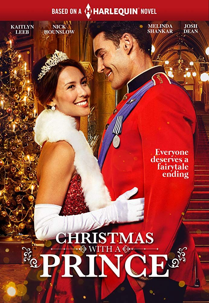 Kaitlyn Leeb and Nick Hounslow in Christmas With A Prince