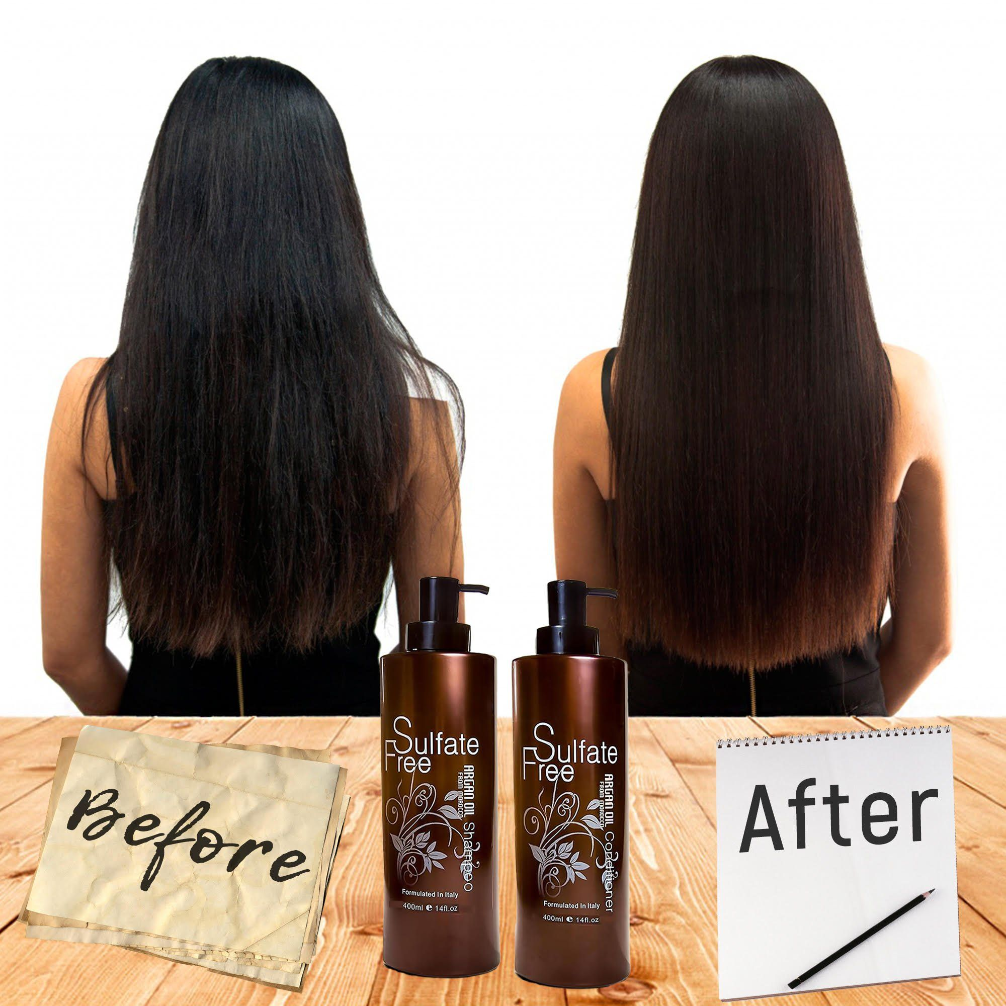 Moroccan Argan Oil Conditioner Sulfate Free Best For Damaged Dry Curly Or Frizzy Hair Thickening For Fi Shampoo For Wavy Hair Dry Frizzy Hair Hair Thickening