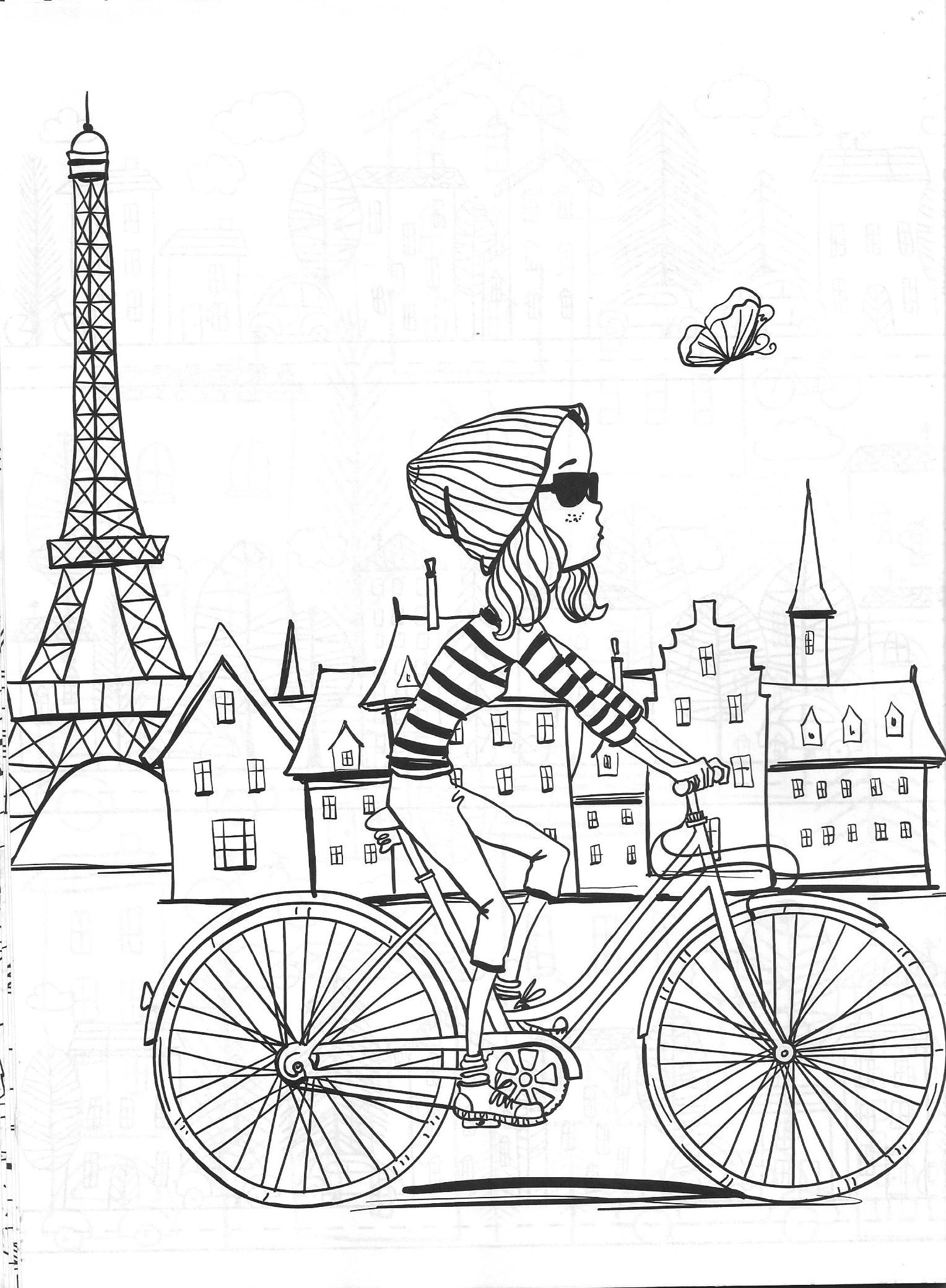 Vida Simples Cidade Dos Sonhos Coloring Books Coloring Pages