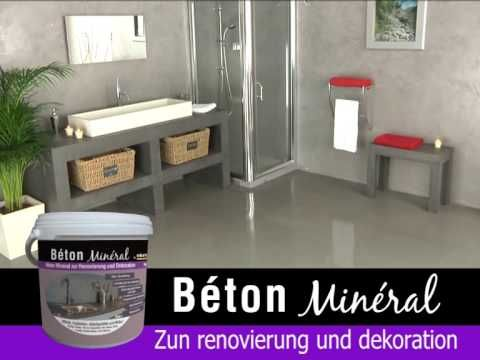 sichtbeton optik handgemacht impressionen youtube b der pinterest bad neu gestalten. Black Bedroom Furniture Sets. Home Design Ideas