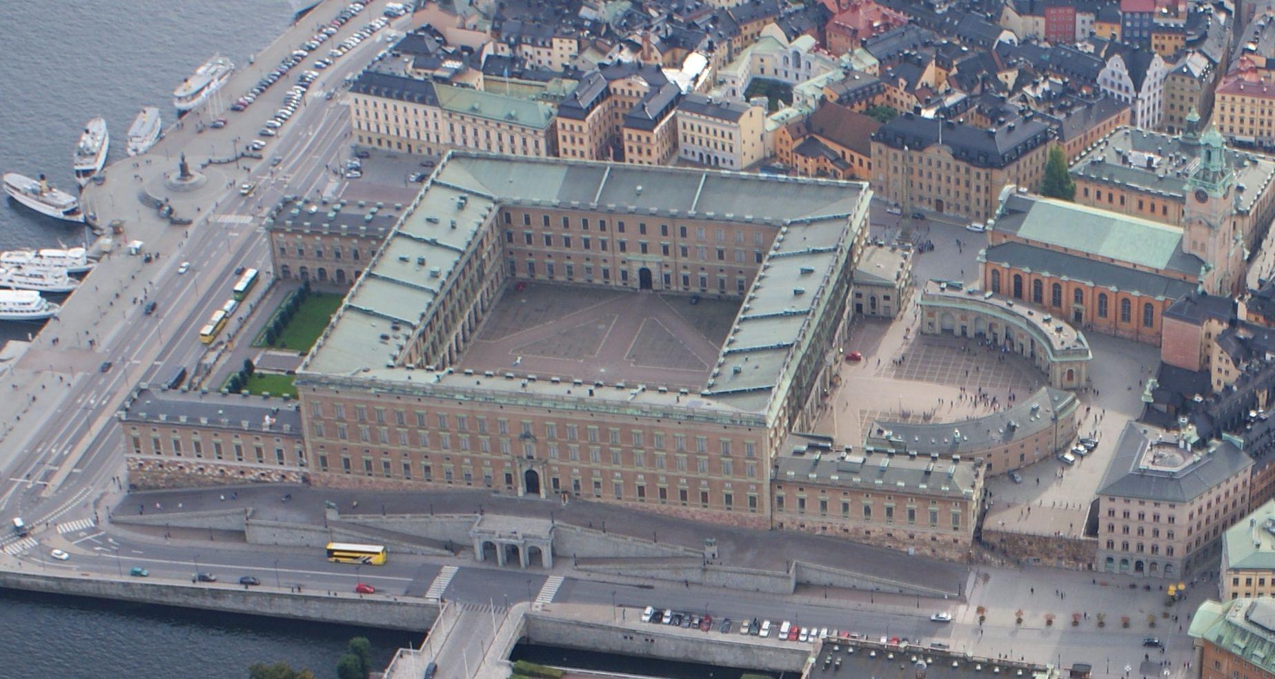 STOCKHOLM_The Royal Palace.