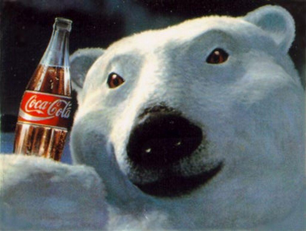 COCA COLA COKE SODA POLAR BEARS /& SEAL WINTER PIN
