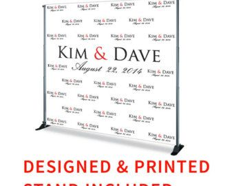 Free Shipping Step And Repeat Backdrop Banner Graduation Etsy Step And Repeat Wedding Banner Backdrop Custom Vinyl Banners