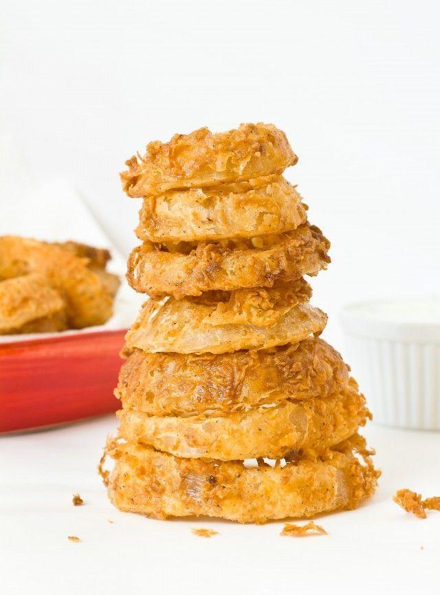 Bewährt: Pikante Buttermilch-Zwiebelringe  - deliciousness -