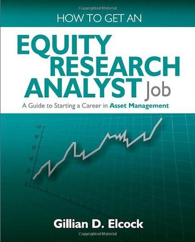 How To Get An Equity Research Analyst Job A Guide To Starting A