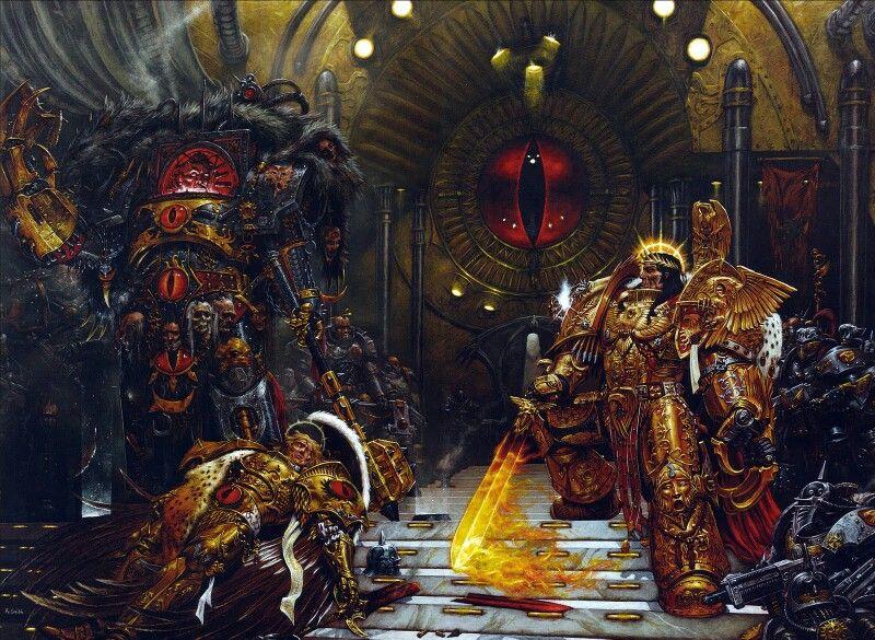 The Emperor vs Horus