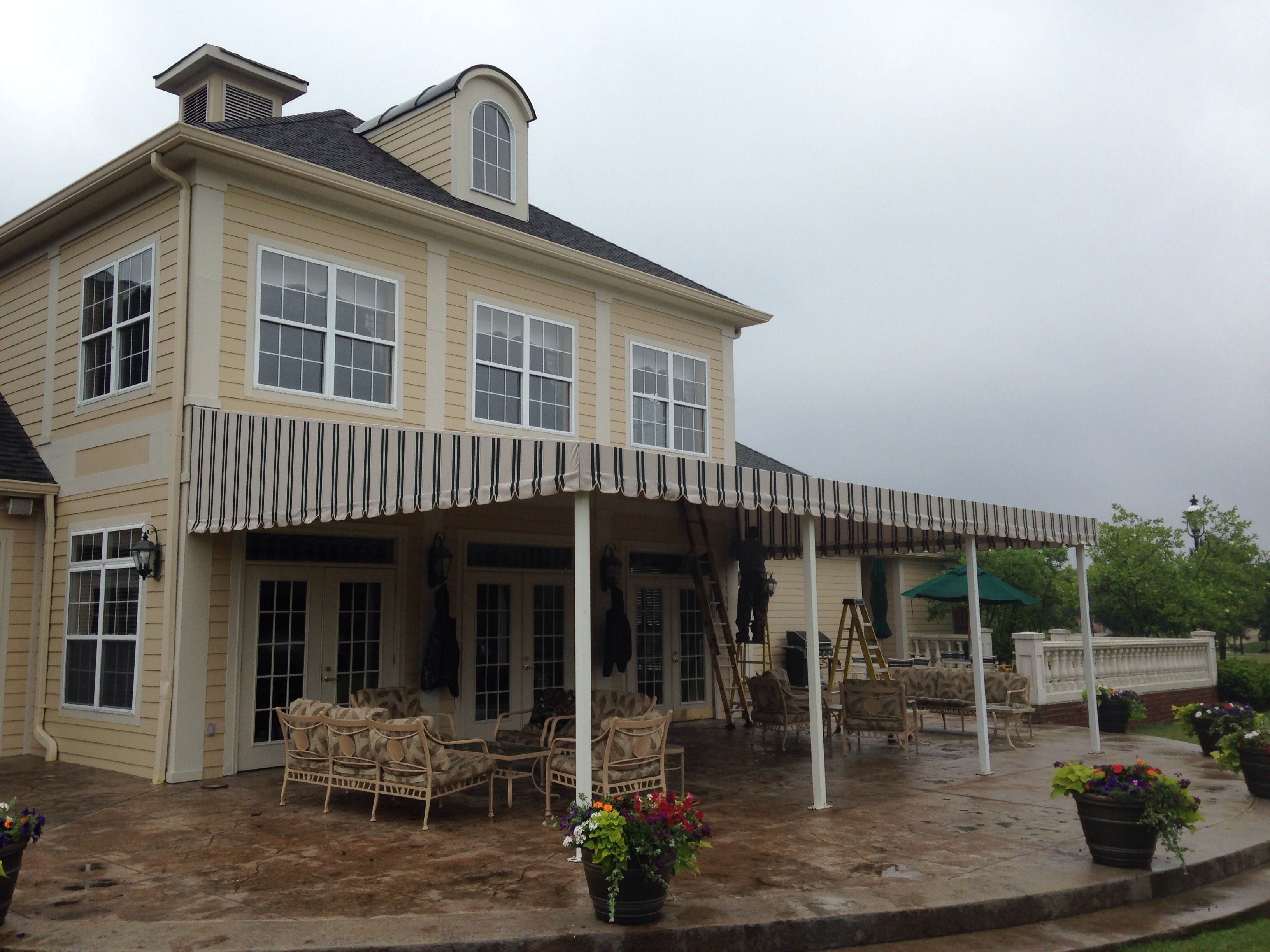 By Queen City Awning House Styles Awning Outdoor Decor