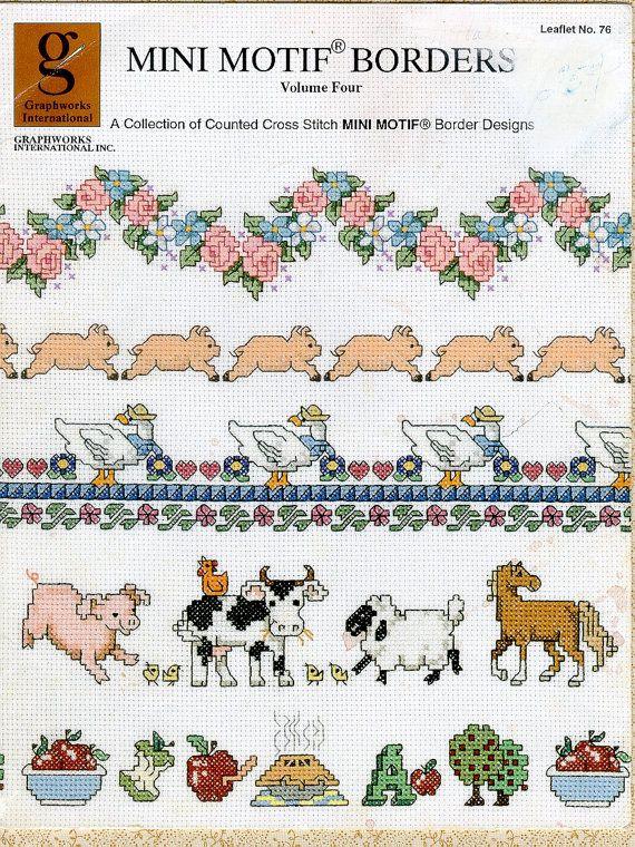 Cow Pile Cross Stitch Chart