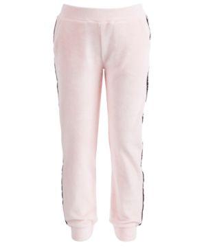 fbe8a23a291 Ideology Big Girls Pink Velour Sweatpants