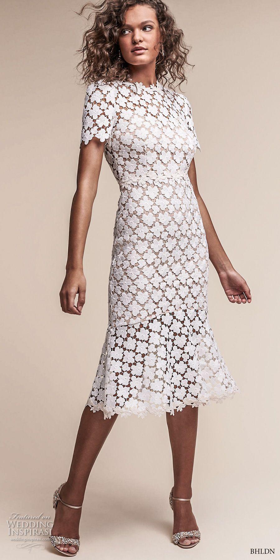 Short boho wedding dress  BHLDNus NeoBohemian Wedding Dresses u  ucOasisud Bridal