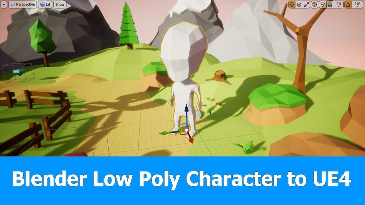 Blender lowpoly character to unreal engine 4 blender pinterest blender lowpoly character to unreal engine 4 baditri Choice Image