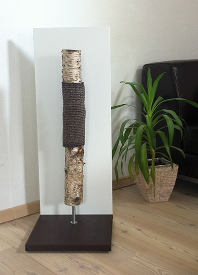 die besten 25 kratzbaum naturholz ideen auf pinterest. Black Bedroom Furniture Sets. Home Design Ideas