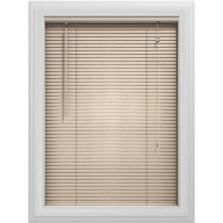 Bali Essentials 1 Inch Aluminum Blind Corded Available In Multiple Colors And Sizes Beige Vinyl Blinds Aluminum Blinds Blinds