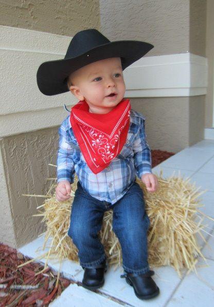 d86134065b4 11 DIY Kids Dress Up Ideas   halloween   Toddler cowboy costume ...