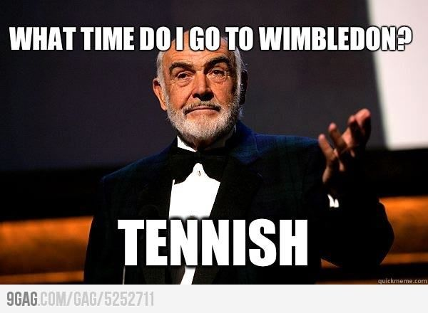 Sean Connery On Wimbledon