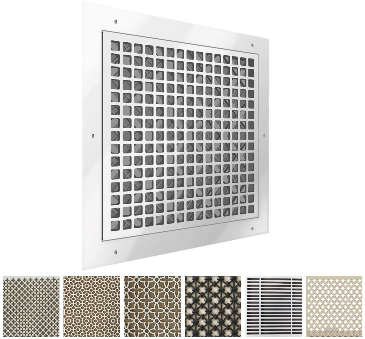 Decorative Resin Air Return Filter Grille Air return
