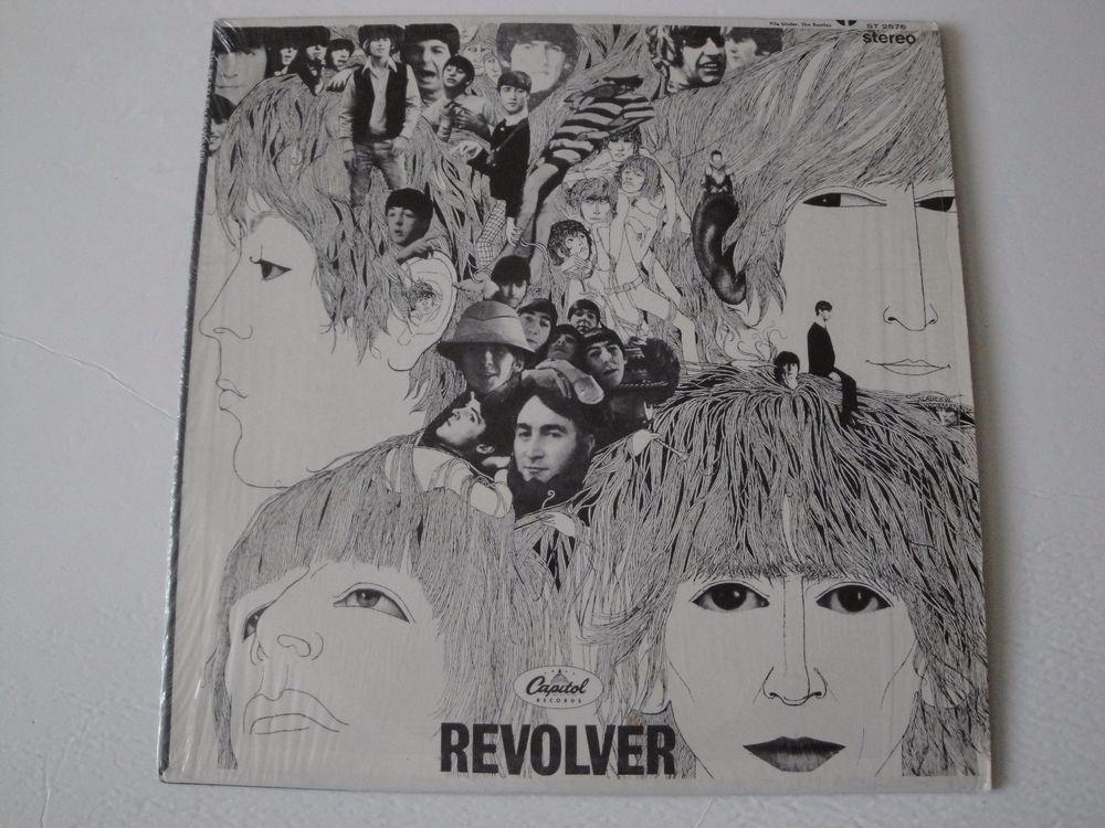 THE BEATLES REVOLVER VINYL LP 1966 CAPITOL RECORDS ST-2576, STEREO EX #BluesRockBritishInvasionBritpopExperimentalRockFolkCountryRockGarageRockRocknRollPsychedelicRock