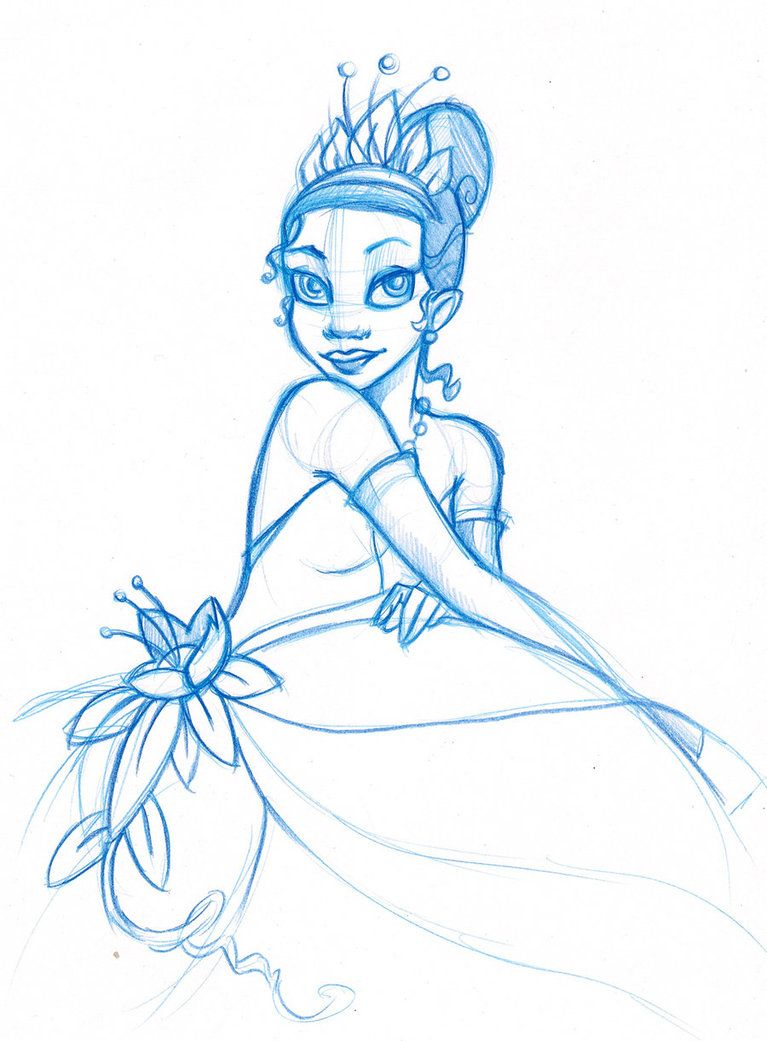 Tiana sketch | Disney: The Princess & the Frog | Pinterest | Tiana ...