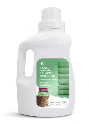 Natural Laundry Detergent Peppermint Roses Natural In 2020