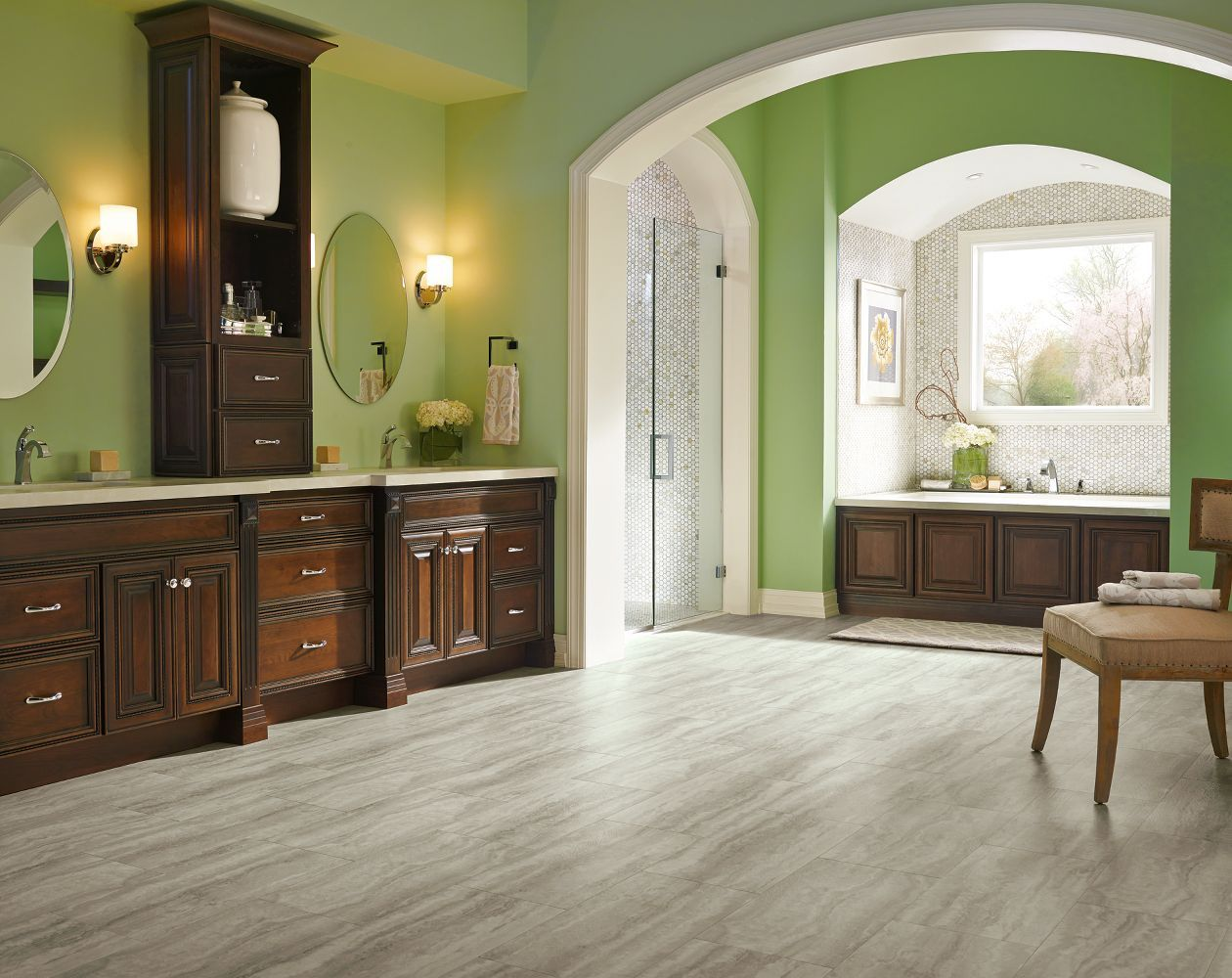 Armstrong bathroom cabinets - Learn More About Armstrong Piazza Travertine Dovetail And Order A Sample Or Find A Flooring
