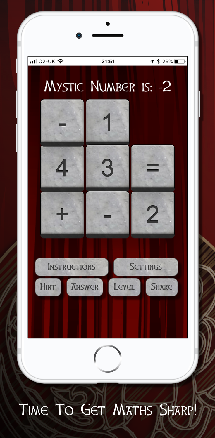 Download our free brain teaser on the App Store https