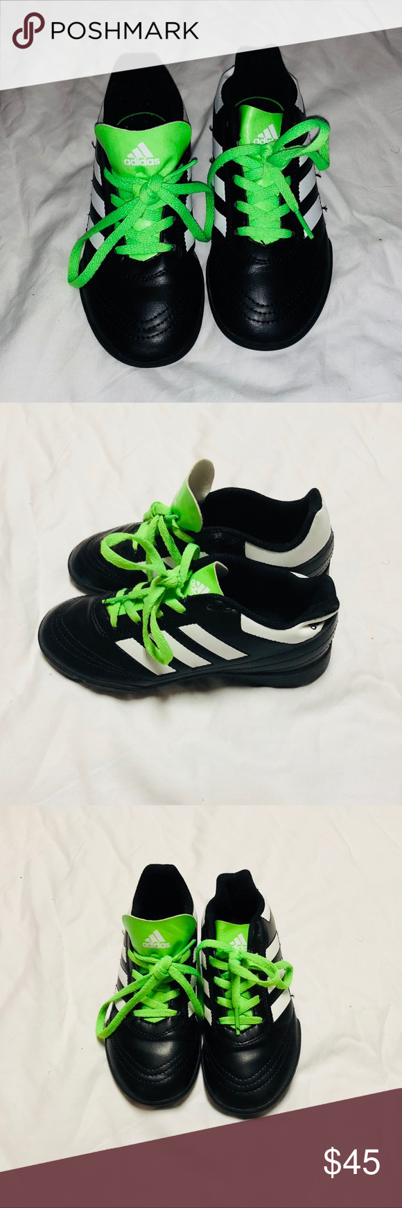 new concept 6d7b6 9b4ed Boys Goletto VI TF J Soccer Shoe size 1 adidas Boys adidas size 1 soccer  shoes. New in box, tried on one time. adidas Shoes Sneakers