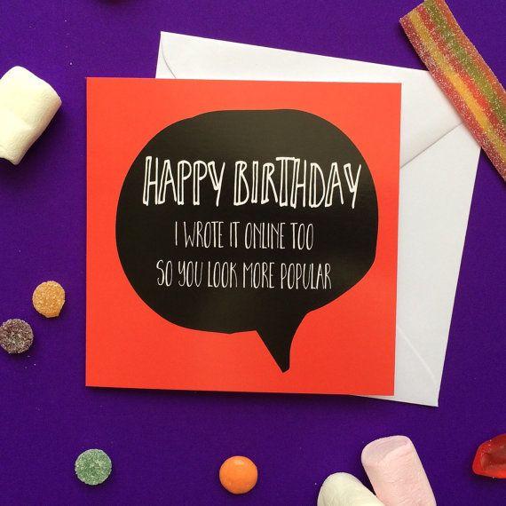 birthday card teenager birthday teen card bae card best friend – Funny Birthday Cards for Teens