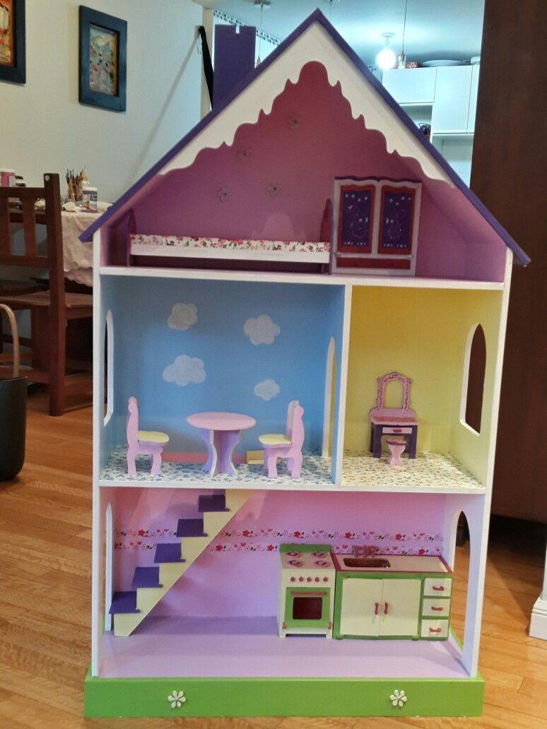 Casa De Muñecas Fibrofacil Dall House Home Decor Toddler Bed Decor
