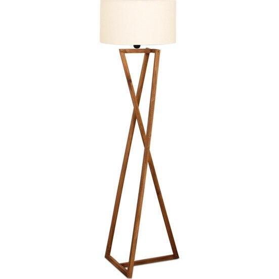 Modern Floor Lamp Wood