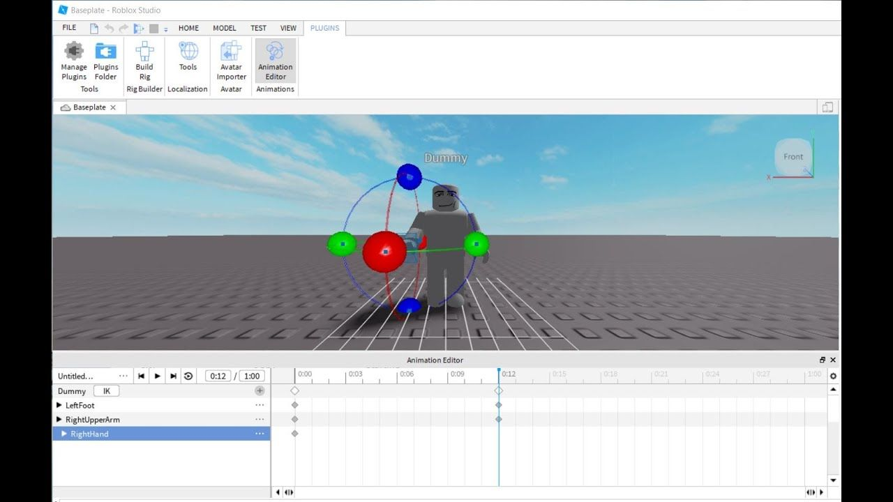 Roblox Animation Editor Update Pin On Roblox Programming