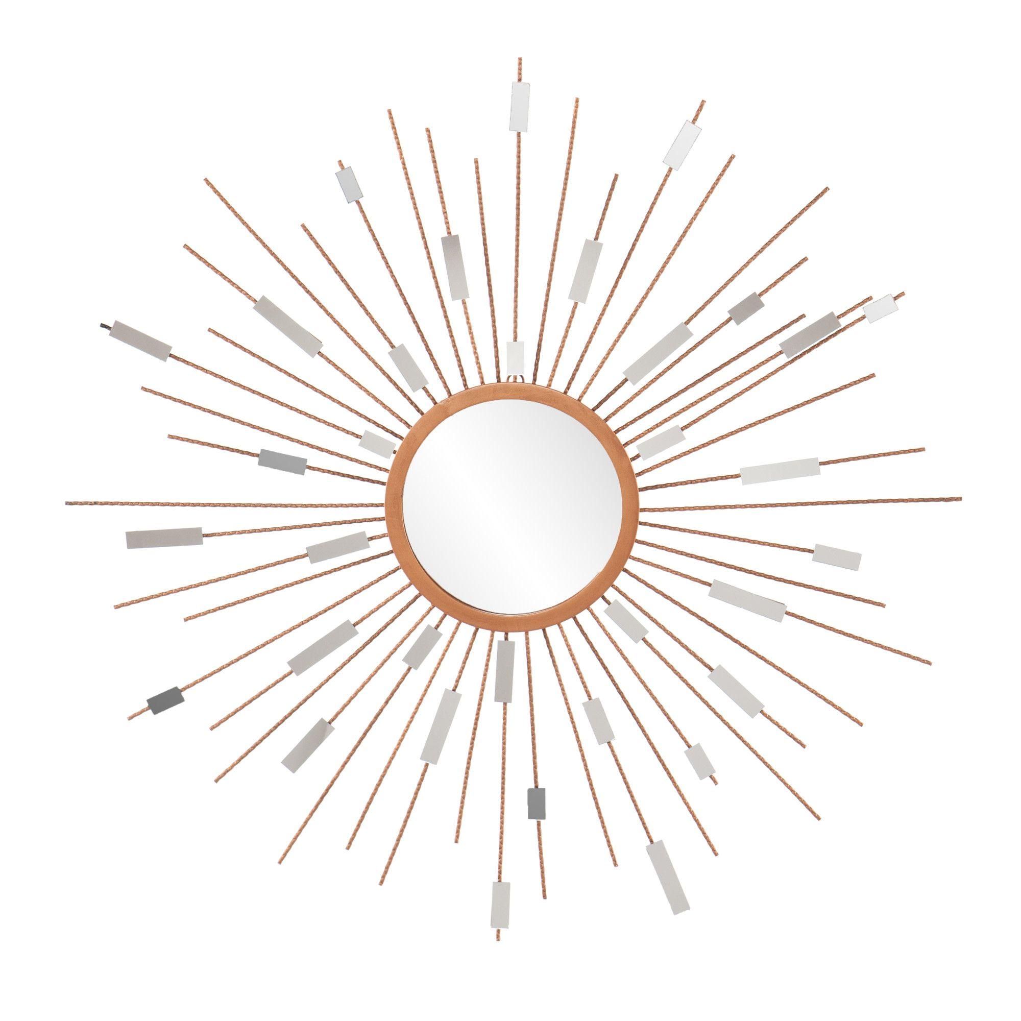 Wildon Home ® Tribeca Starburst Wall Mirror & Reviews
