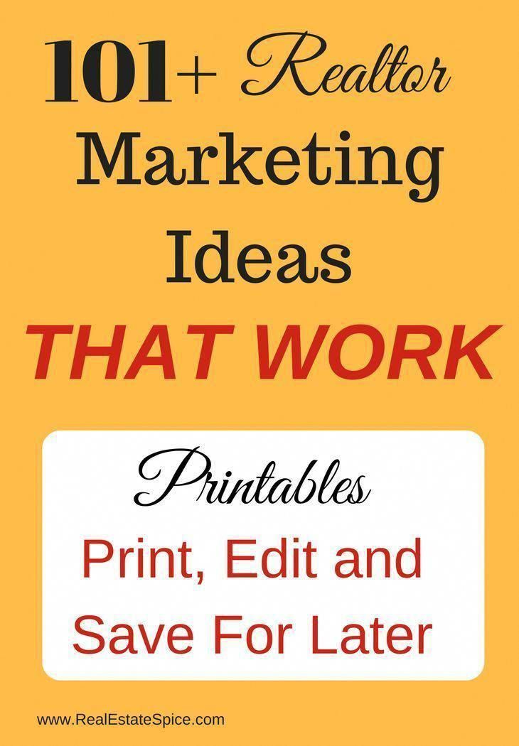 Monthly Real Estate Marketing Ideas. GET YOUR PDF HERE #realestatetips