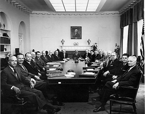 fdr's cabinet-room-1957 | annie | pinterest | annie