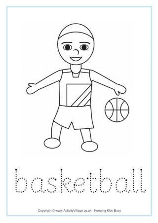Basketball Mit Bildern Gymnasium Malen